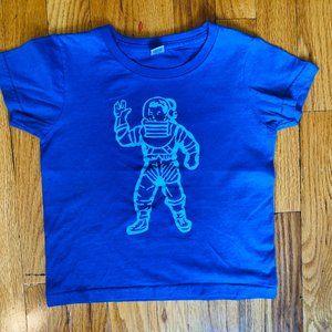 5//6 NWT Billionaire Boys Club Kids Astronaut SS Tee in Black Size 2T